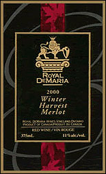 Royal DeMaria's Gewurztraminer Icewine