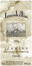 Inniskillin's Vidal Icewine