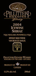 Pillitteri Estates' Shiraz Icewine