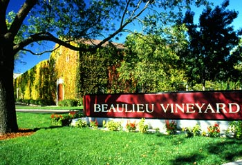 Historic Beaulieu Vineyard in the Napa Valley