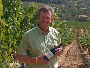 Bonterra Vineyards winemaker Bob Blue