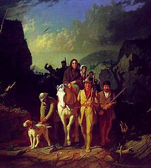 Daniel Boone leds settlers to Kentucky, once the 3rd largest wine producer.