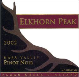 Elkhorn Peak Pinot Noir