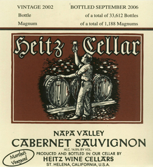 Heitz Wine Cellars Martha's Vineyard Cabernet