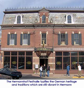 Hermannhof Festhalle - Hermann, Missouri