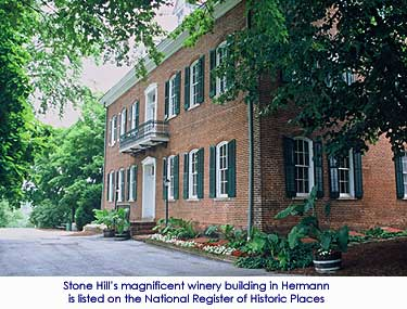Stone Hill Winery - Hermann, Missouri