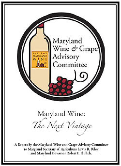 Maryland Wine & Grape Advisory Committee Report