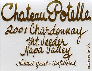 Chateau Potelle - Mount Veeder, Napa Valley