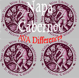 Napa Valley Cabernet AVA differences
