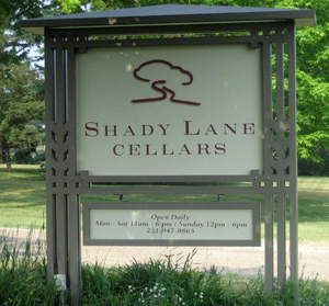 Welcome to Shady Lane Cellars.
