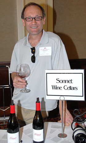 Tony Craig of Sonnet Cellars.