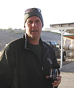 Joe Barton is producing a wide array of wines at his Grey Wolf Cellars.