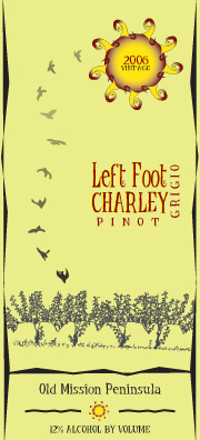 Left Foot Charley is in Traverse City, Michigan.