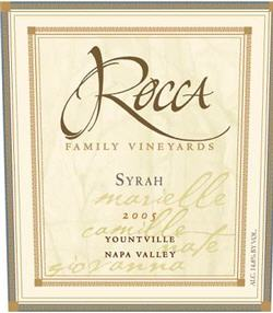 Rocca Vineyards Syrah