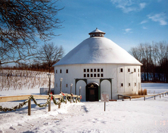 Round Barn Winery in Michigan