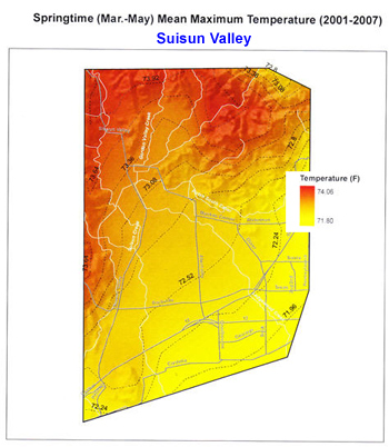 The Suisun Valley Climate Report
